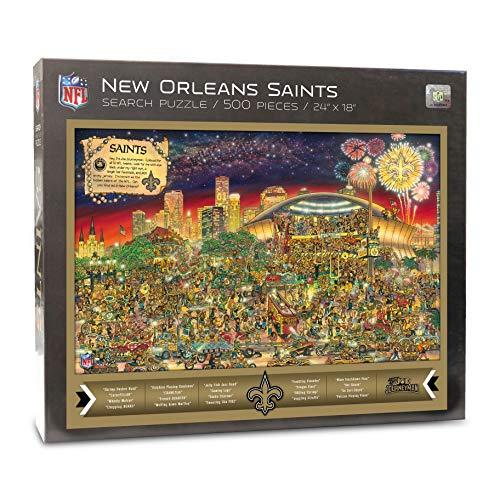 NFL New Orleans Saints Joe Journeyman Puzzle - 500-piece
