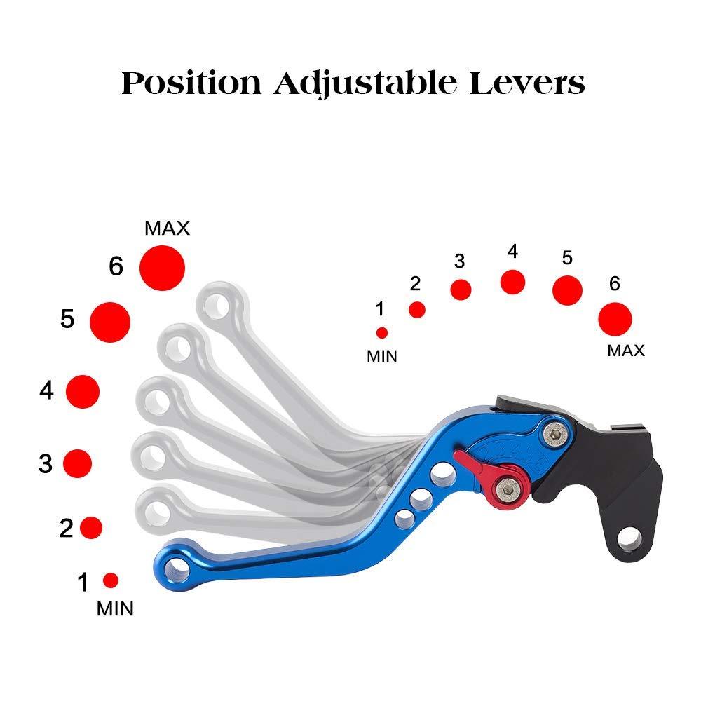 Motorcycle Short Adjustable Brake Clutch CNC Levers Pair For Yamaha RAPTOR 660 2004-2006 YFM700 Raptor 700R 2000-2006