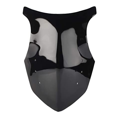 Amazon.com: GZYF ABS Motorcycle Double Bubble Windshield ...