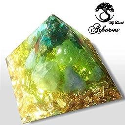 Orgonite ® Arborea Orgone Pyramid, Heart Chakra