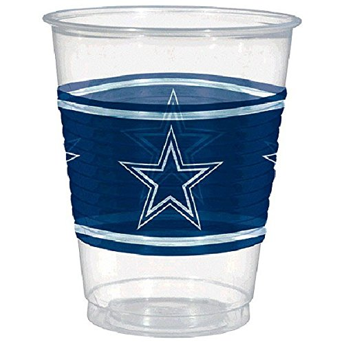 Party Supplies Dallas (Amscan Dallas Cowboys Plastic Cup, 16 oz.)