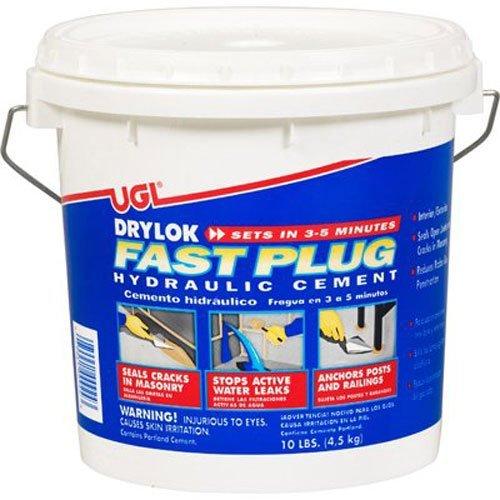10 Lb Fast Plug - DRYLOK 00924 Fast Plug, 10-Pound by Drylok