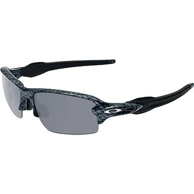 ae6080c397 Oakley Men's Flak 2.0 Asian Fit OO9271-06 Rectangular Sunglasses, Carbon  Fiber, 61