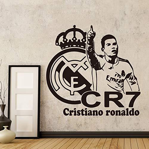 yiyiyaya Football Star CR Ronaldo fútbol Pegatinas de Pared ...