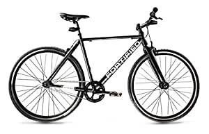 Fortified City Commuter Theft-Resistant Single Speed Bike (Small (50cm))