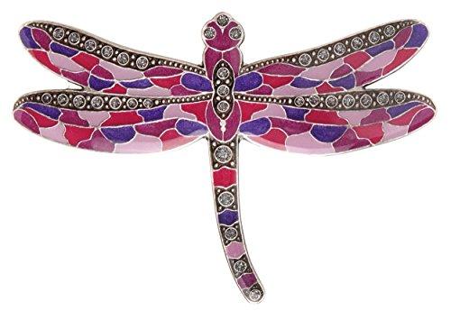 FRANCE LUXE Dandy Dragonfly Barrette - Purple