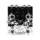 EarthQuaker Devices Avalanche Run V2 Stereo Delay Reverb, Limited Edition Black and White