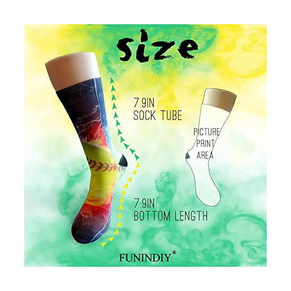 Tagsb Lazy Sloth Compression Socks Soccer Socks High Socks Long Socks For Running,Medical,Athletic,Edema,Diabetic,Varicose Veins,Travel,Pregnancy,Shin Splints,Nursing. -