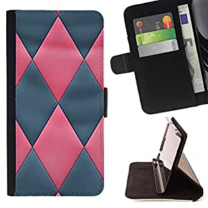 Jordan Colourful Shop - pink grey 3D Leather pattern For Apple Iphone 6 - Leather Case Absorci???¡¯???€????€?????????&Ati