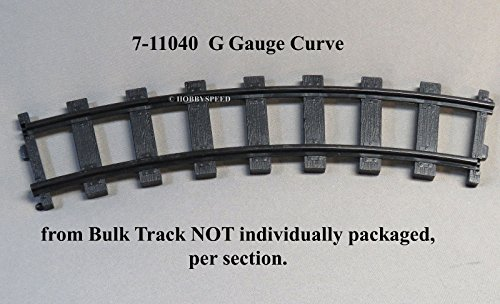 Large Scale Curved Track (LIONEL G GAUGE CURVE TRAIN TRACK SECTION battery operated 7-11040 BULK TRACK)