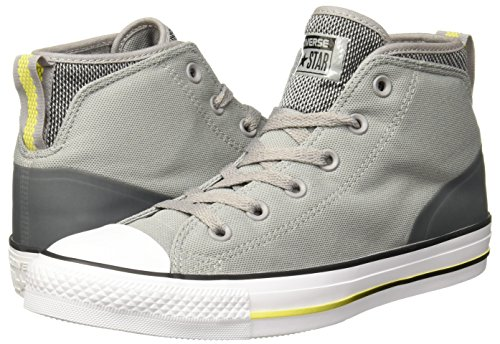 a9896e749a0f59 Converse Unisex Chuck Taylor All Star Syde Street Mid Grey Sneaker - 8 Men  - 10