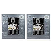 Reflections Heavyweight Plastic Utensils, (80 Forks 40 Spoons 40 Knives)