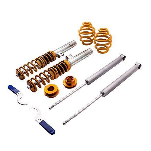 318i 320i 323ci 330ci 318ci maXpeedingrods Coilover Shock Suspension for BMW 3 Series E46 1998-2006 316i 325ci M3 316ci 328i 328ci 330i 323i 325i 320ci
