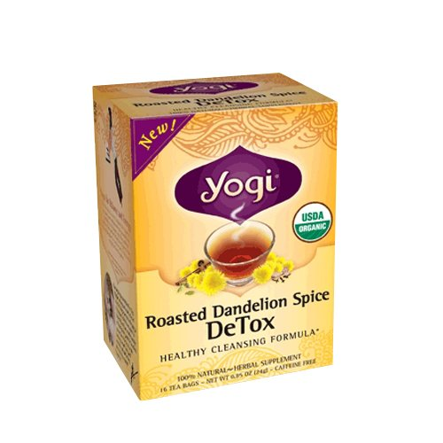 Yogi rôti organique pissenlit Spice Tea Detox, 16 comte