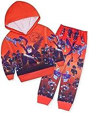 JCHEGN Kids Impostor Hoodie Sweater and Sweatpants Boys 2 Piece Sweatshirt Set Youth Hoodies Set
