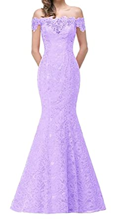 Bywx Women Evening Formal Long Prom Dresses Gowns Off Shoulder
