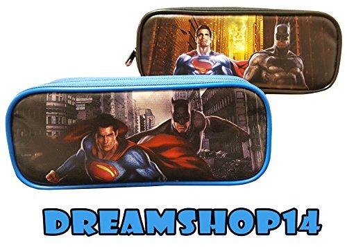 (Batman VS Superman Pencil Case/Pouch Design Set of 2)