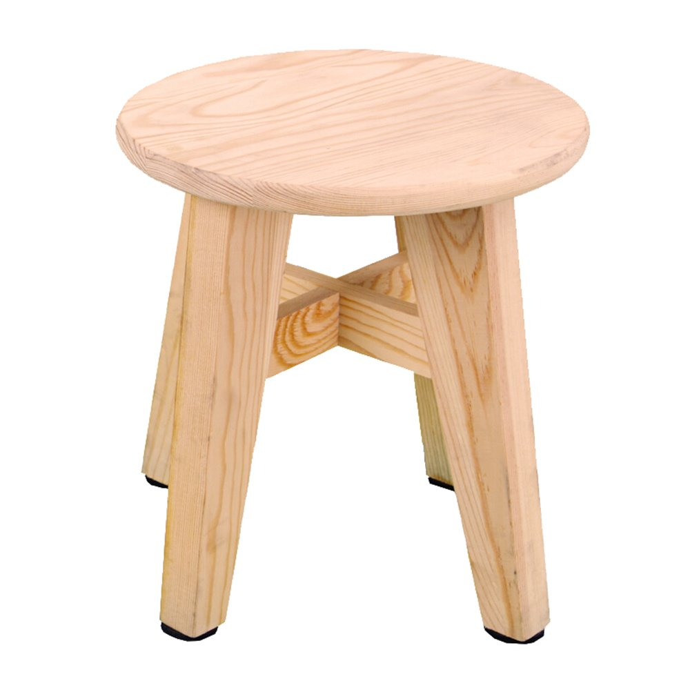 Shoes Bench/Solid Wood Small Stool/Slip Stool/Outdoor Leisure Stool // Sofa Stool/Fishing Stool Bedroom Stool Creative Stool/Living Room Stool/Stool / Children's Stool / (2325cm)