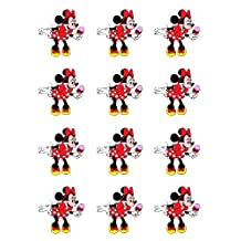 Single Source Party Supply - Minnie Mouse Cupcakes Edible Icing Image #3