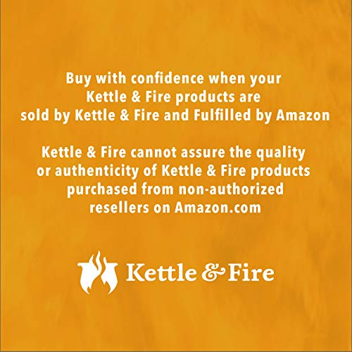 Kettle & Fire Chicken Bone Broth Soup by Kettle and Fire, Pack of 6, Keto Diet, Paleo Friendly, Whole 30 Approved, Gluten Free, with Collagen, 7g of protein, 16.2 fl oz by Kettle & Fire (Image #7)