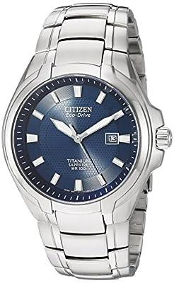 Citizen Watches Mens BM7170-53L Eco-Drive Titanium Watch by Citizen Watches