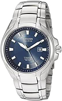 Citizen Eco-Drive Men's Titanium Blue Dial Watch