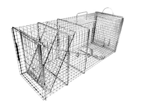 Tomahawk Original Series Rigid Trap with Easy Release Door for Large Raccoons and Woodchucks by Tomahawk