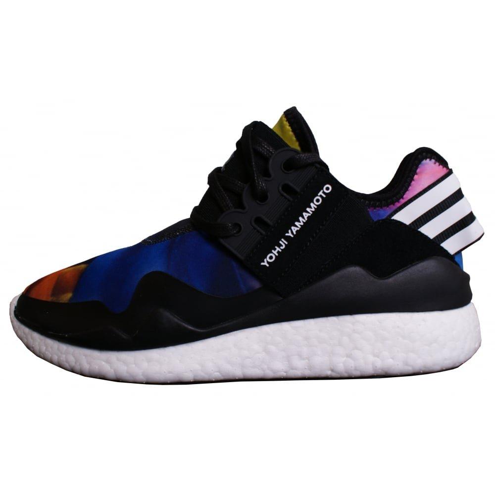 1397e2f63 adidas Y-3 Retro Boost  Multi  - AOPBRO CBLACK FTWWHT Trainer Size 10 UK   Amazon.co.uk  Shoes   Bags