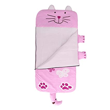 cheap for discount a8cea 84686 Fityle Kids Cartoon novelty sleeping bag. Great for sleepovers/camping 130  * 59cm - Cat, 130x59cm