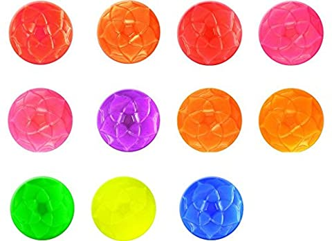 Neon Soap & Cosmetic Color Sample Set - 11 Mica Powder Colors - Bright & Vibrant Dye Colors for Soap Making - Powder - Orange Candle Dye