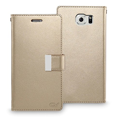 Ultra Flip PU Leather Case for Samsung Galaxy S6 Edge Plus (Black) - 8