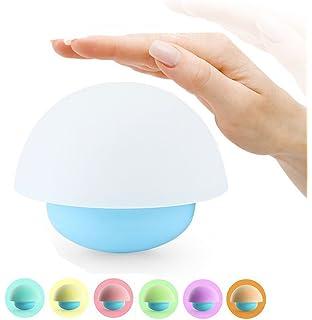 AFAITH LED Luz de la noche LED Luz ambiental Lámpara en forma de hongo Con 7