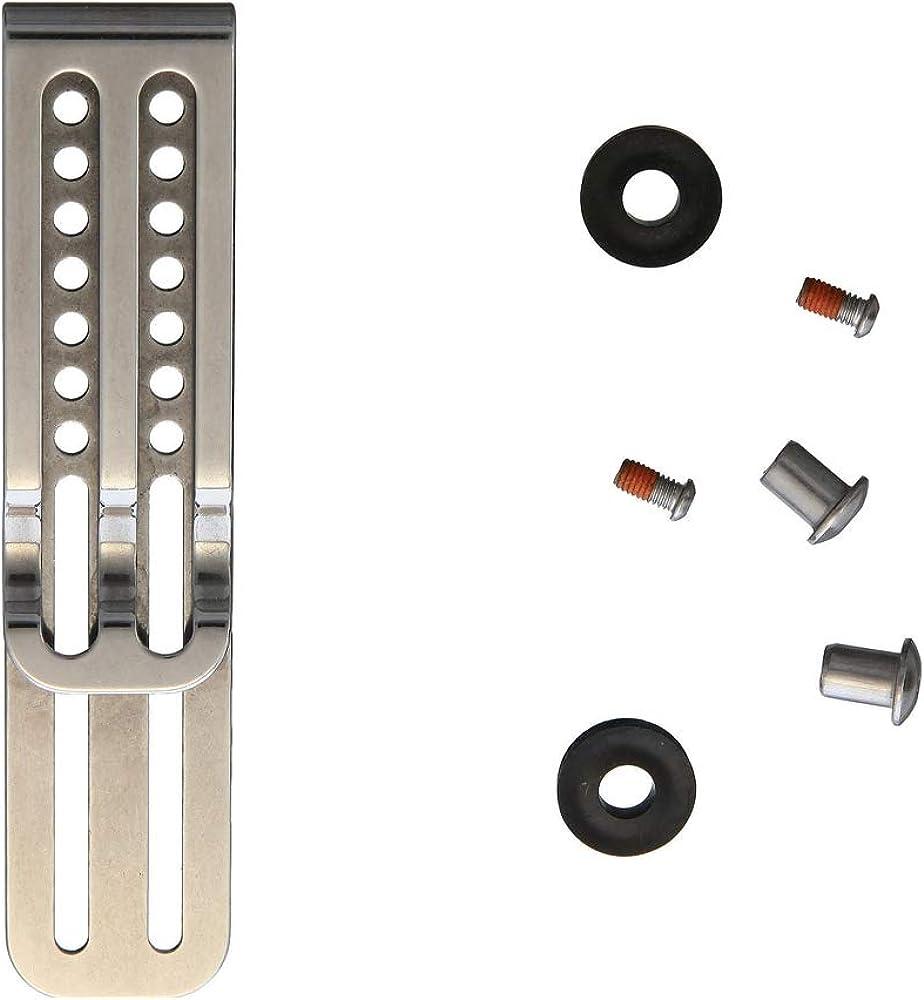 Pocket Clip K Sheath Small Strap System Waist Belt Clip for Kydex Holster
