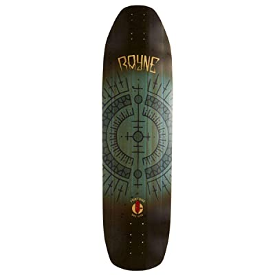 Rayne Carbon Deelite Fortune Longboard Deck - Full Send : Sports & Outdoors