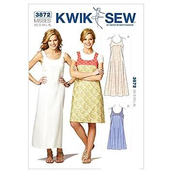 Kwik Sew Damen Schnittmuster 3872 – Kleid (O/S): Amazon.de: Küche ...