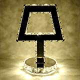 table lamp Table lamp bedroom bedside creative study lamp simple modern wedding room lights warm light makeup mirror A+
