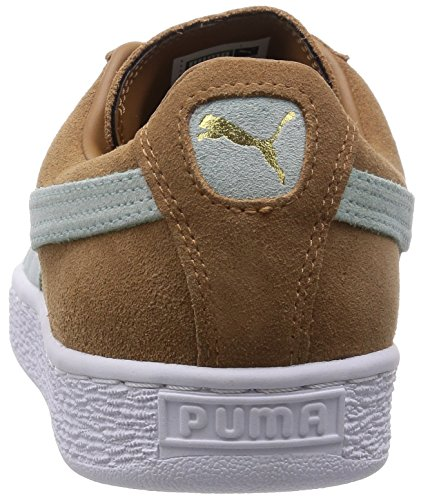 Puma Zapatilla Suede Classic + Chipmuck brown-Fair aqua-White Chipmuck brown-Fair aqua-White