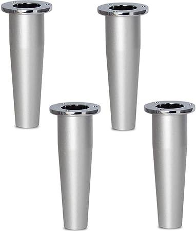Gambe Per Tavoli In Alluminio.Fcxbq 4 Gambe Per Mobili Piedini Regolabili Multi Misura In