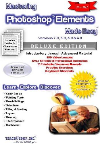 Amazing elearning mastering adobe photoshop elements 6. 0 training.