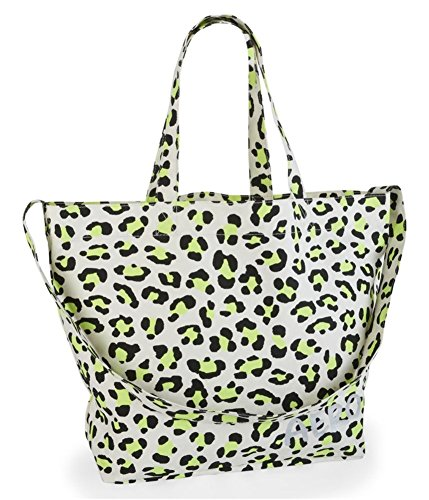 (Aeropostale Womens Aero Graffitti Animal Print Totes Shoppers Handbags Purses - 107 -)