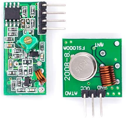 [해외]BBOXIM 1PCS 315Mhz RF Wireless Transmitter and Receiver Kit Module for Raspberry PI / BBOXIM 1PCS 315Mhz RF Wireless Transmitter and Receiver Kit Module for Raspberry PI