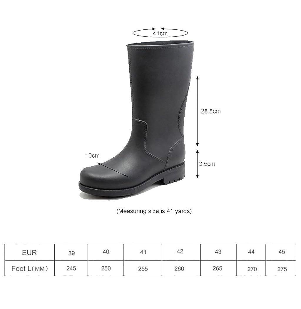 QYQyx Regenstiefel für Herren Regenstiefel von von von Wellington e8bba3