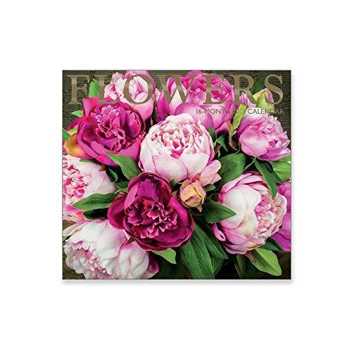 - 16 Month Wall Calendar 2019: Flowers - Each Month Displays Full-Color Photograph. September 2018 to December 2019 Planning Calendar