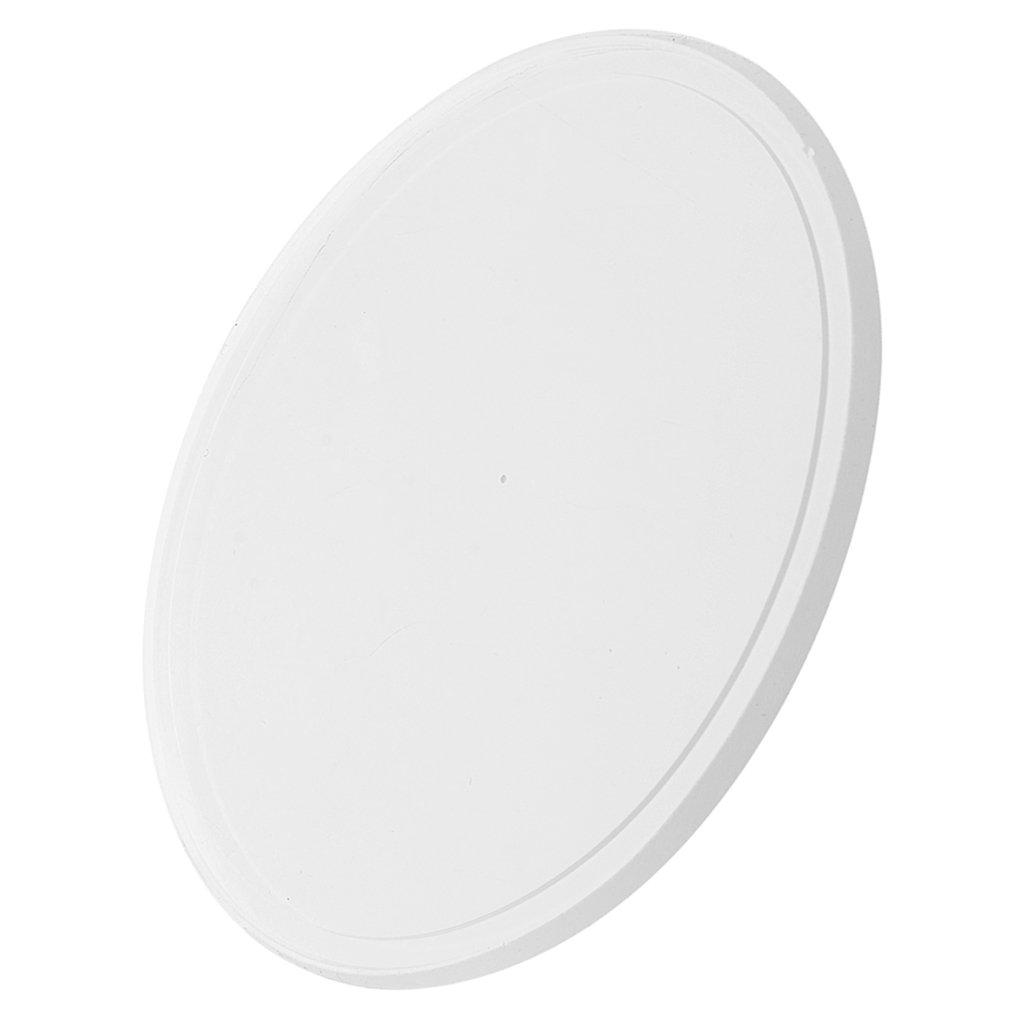MagiDeal Silikonpad für Wimpernverlängerung Silikon Künstliche Wimpern / Kleber Halter Palette, wiederverwendbar, Eyelash Extensions Pad - Klar-rechteckig