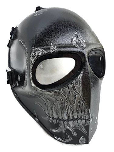 Cosplay Borderlands 2 Costumes (Invader King ™ Dark Commodore Army of Two Airsoft Mask Protective Gear Outdoor Sport Fancy Party Ghost Masks Bb)