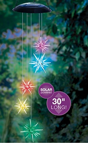 Grasslands Road Solar Star Mobile Hanging Decor