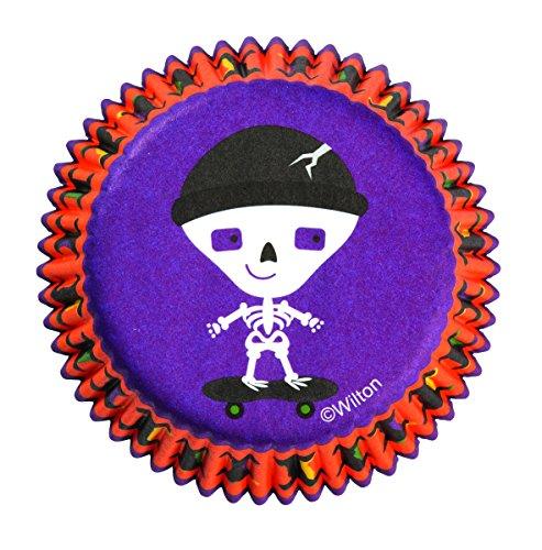 Wilton 415-0442 Halloween Spooky Pop Standard Baking Cups, 75 (Halloween Themed Cake Pops)