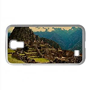Machu Picchu Peru Watercolor style Cover Samsung Galaxy S4 I9500 Case