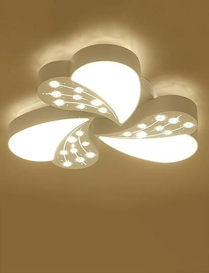 CAIJUN cristallo LED Camera da letto romantico Calore plafoniere ...