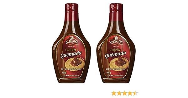 Amazon.com : Coronado Cajeta Quemada - Regular Flavor (Squeeze Bottle) 23.3 oz (Pack of 2) : Grocery & Gourmet Food